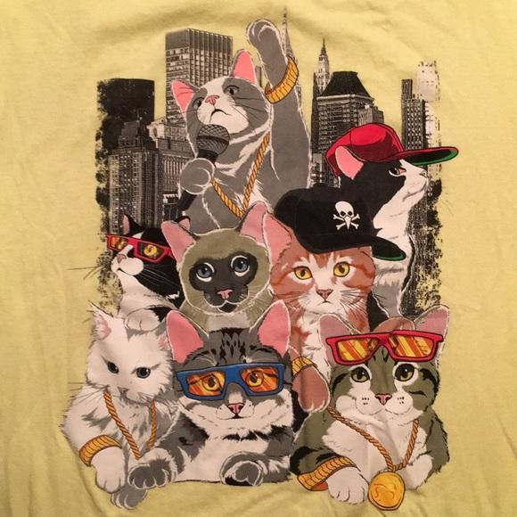 Shirts Hip Hop Cats Tshirt Poshmark
